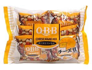 ★まとめ買い★ 六甲バターQBB チーズ豆ミックス6袋 ×12個【イージャパンモール】