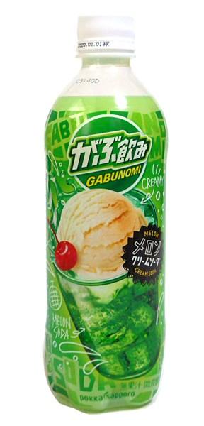★まとめ買い★ ポッカがぶ飲みメロンクリームソーダ500Mペット ×24個【イージャパンモール】