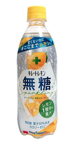★まとめ買い★ ポッカ レモン無糖スパークリング500ml ×24個【イージャパンモール】