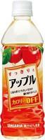 ★まとめ買い★ サンガリア すっきりとアップル 500ml PET ×24個【イージャパンモール】