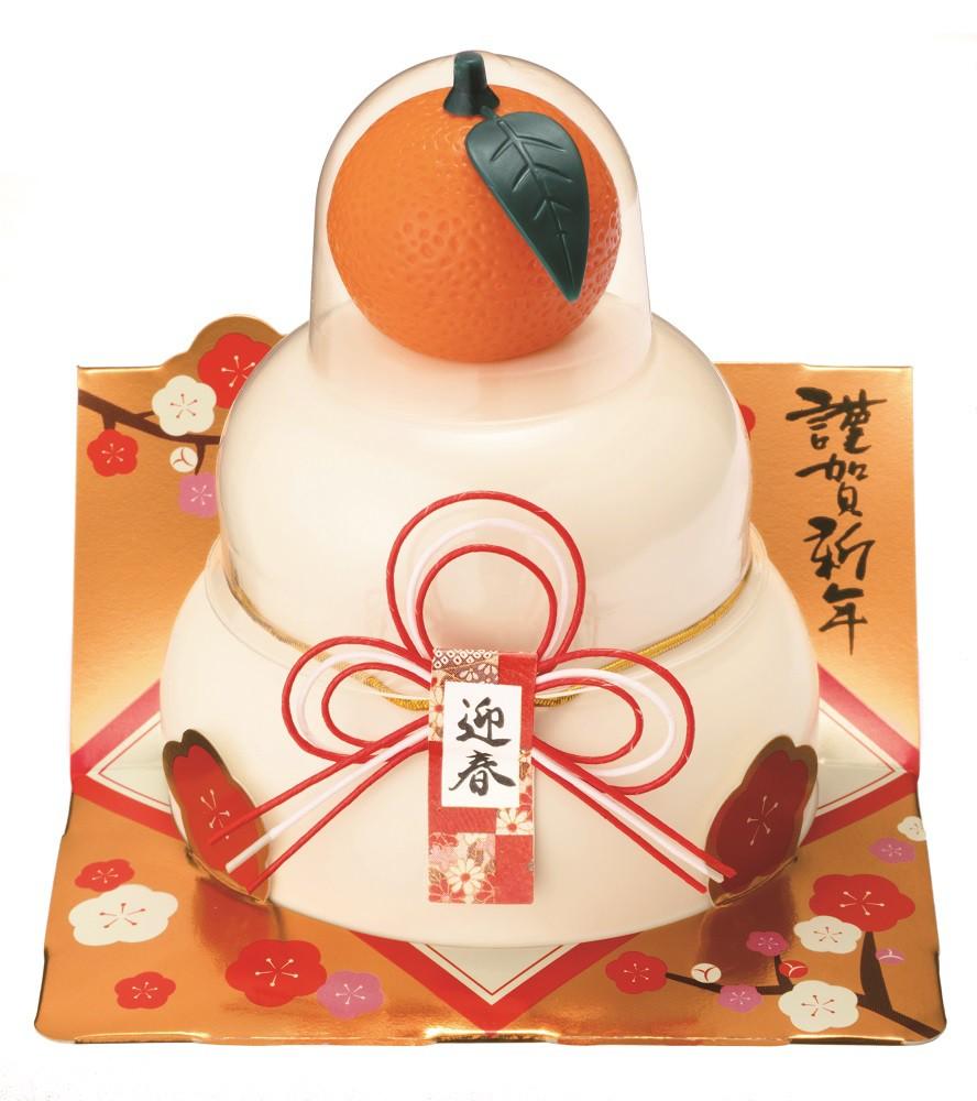 【鏡餅】★まとめ買い★ GK-50 たいまつ お鏡餅 こもち 切り餅 橙 66g ×24個【イージャパンモール】