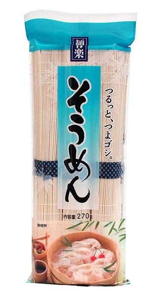 ★まとめ買い★ 麺有楽 そうめん 270G ×30個【イージャパンモール】