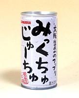★まとめ買い★ サンガリア みっくちゅじゅーちゅ190g缶 ×30個【イージャパンモール】