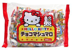 ★まとめ買い★ エイワ ハローキティ チョコマシュマロ 80個【イージャパンモール】