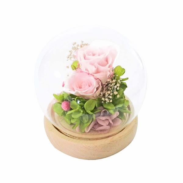 【送料無料】【母の日】母の日 スフィアドームアレンジメント/ピンク B11820【ギフト館】