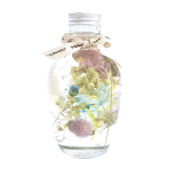 【送料無料】【母の日】母の日 ハーバリウムフルーツボトル(ブルー) SC-80669【ギフト館】