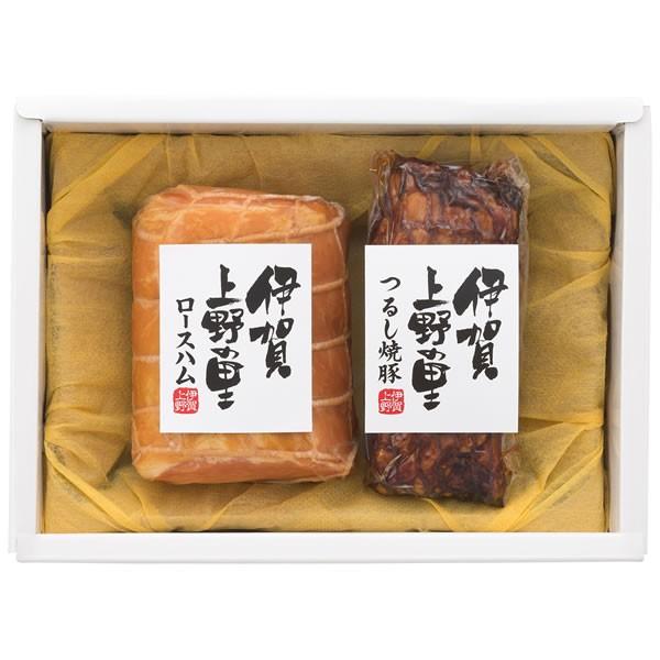 【送料無料】【父の日】伊賀上野の里 父の日 伊賀上野の里ロースハム&つるし焼豚詰合せ SAG-30【ギフト館】