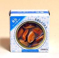 トマトCP 肴缶 ムール貝塩味 スペイン産 80g【イージャパンモール】