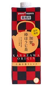 ポッカSP (業)加賀棒ほうじ茶 紙P 1000ml【イージャパンモール】