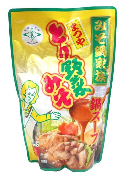 まつや とり野菜みそ鍋スープ 720g【イージャパンモール】