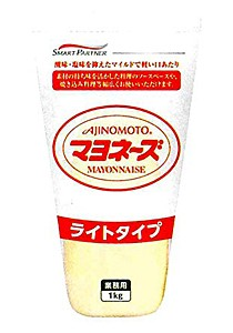 味の素 マヨネーズ ライトタイプチューブ 1Kg【イージャパンモール】