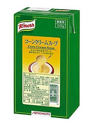 味の素 クノール コーンクリームスープ アセプティック 1000g【イージャパンモール】