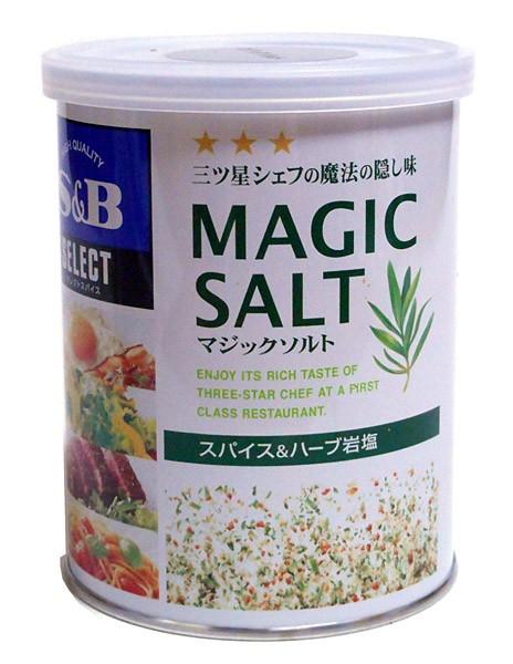 SB セレクトスパイス マジックソルトM缶 200g【イージャパンモール】