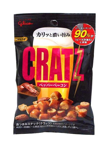 グリコ クラッツペッパーベーコン42g【イージャパンモール】