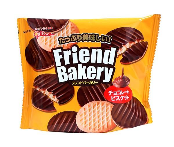 グリコ フレンドベーカリーチョコレートビスケット 62g【イージャパンモール】