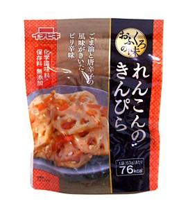 イチビキ おふくろの味れんこんのきんぴら63g【イージャパンモール】
