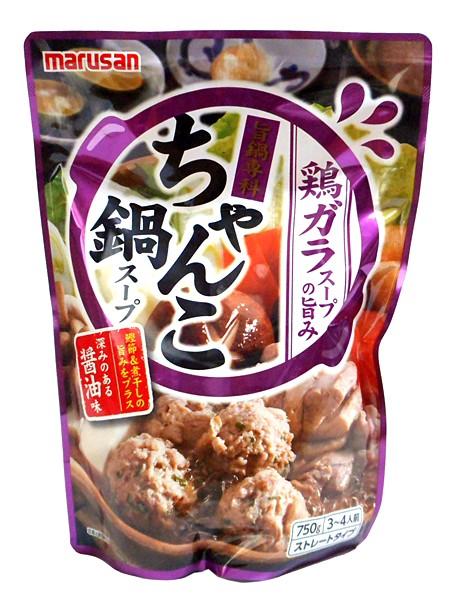 マルサンアイ 旨鍋専科ちゃんこ鍋スープ750g【イージャパンモール】