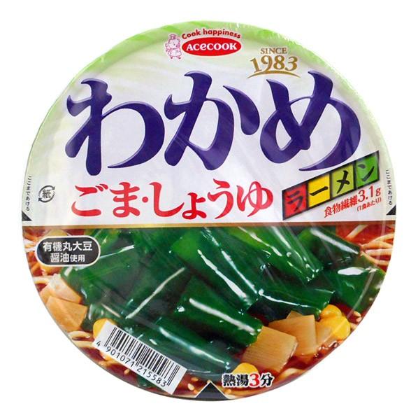 エースコックわかめラーメン ゴマ・醤油93g【イージャパンモール】
