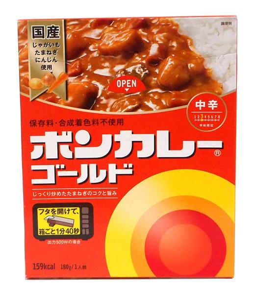 大塚食品 ボンカレーゴールド中辛180g【イージャパンモール】