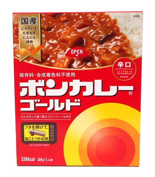 大塚食品 ボンカレーゴールド辛口180g【イージャパンモール】