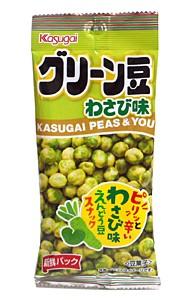 春日井 グリーン豆わさび味 40g【イージャパンモール】