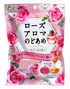 春日井製菓 ローズアロマのど飴 90g 【イージャパンモール】