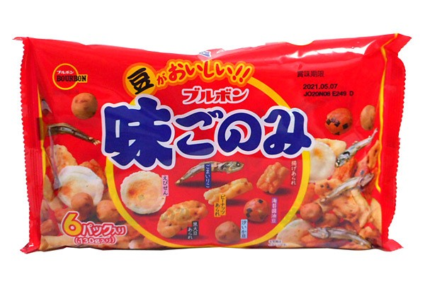 ブルボン 味ごのみファミリー130g【イージャパンモール】