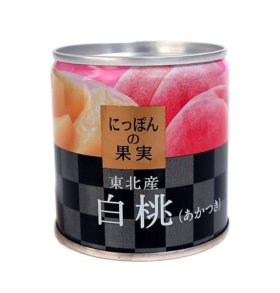 K&Kにっぽんの果実白桃(あかつき)M2号缶【イージャパンモール】