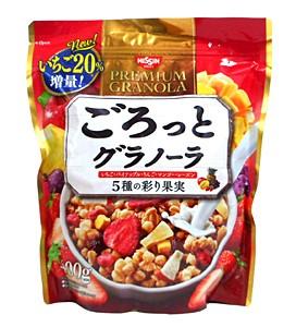 日清シスコ ゴロットグラノーラ5種の彩り果実【イージャパンモール】