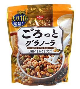 日清シスコ ごろっとグラノーラ 3種のまるごと大豆 400g【イージャパンモール】