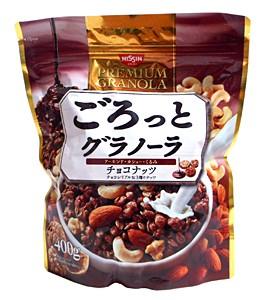日清シスコ ごろっとグラノーラチョコナッツ 400g【イージャパンモール】