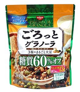 シスコ  グラノーラ3種マルゴト大豆糖質60%オフ 360g【イージャパンモール】