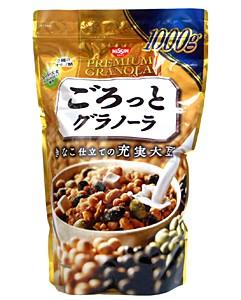 日清シスコ ごろっとグラノーラきな粉仕立ての充実大豆 1000g 【イージャパンモール】