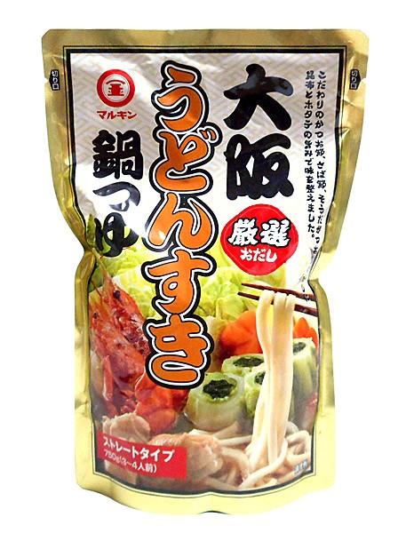 マルキン 大阪うどんすき鍋つゆ750g【イージャパンモール】