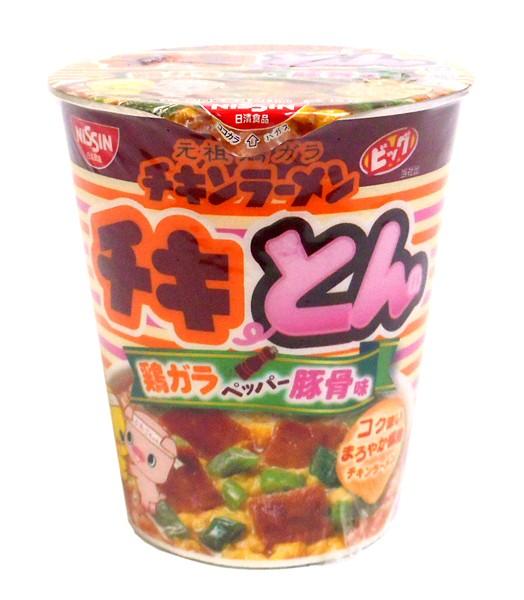 日清 チキンラーメンビッグチキとん鶏ガラペッパー豚骨【イージャパンモール】