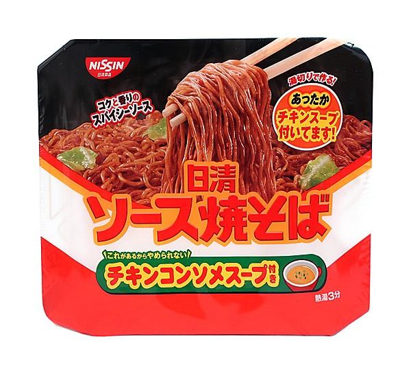 日清 ソース焼そばカップチキンスープ付き【イージャパンモール】
