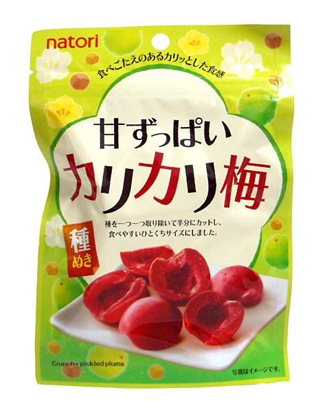 なとり 甘ずっぱいカリカリ梅25g【イージャパンモール】