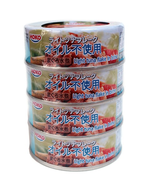 宝幸 ライトツナフレークノンオイル 70g×4缶【イージャパンモール】