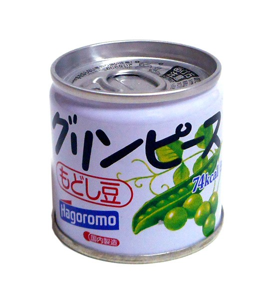 ハゴロモ グリーンピース 豆缶 85g【イージャパンモール】