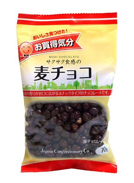 JCC お買得気分麦チョコ70g【イージャパンモール】