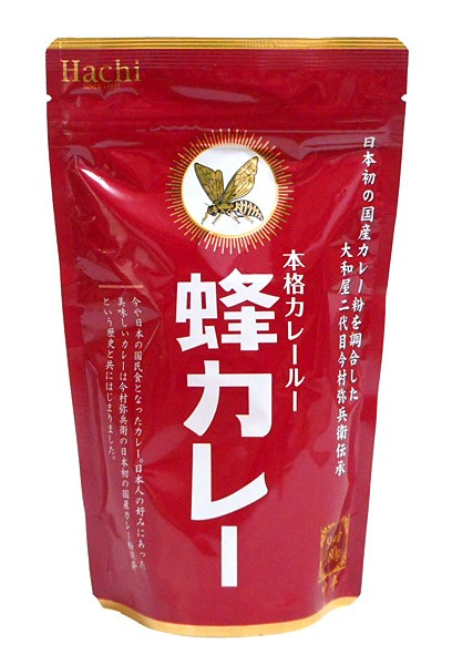 ハチ 蜂カレー カレールー中辛 180g【イージャパンモール】
