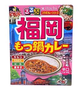 ハチ るるぶ×ハチ もつ鍋カレー 200g【イージャパンモール】