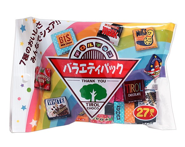 チロルチョコ チロルチョコ バラエティパック 27個【イージャパンモール】