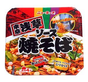 ニュータッチ 東京浅草ソース焼そば 127g【イージャパンモール】