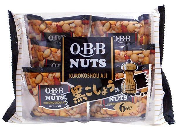 QBB 黒コショウ味ミックス 小袋 138g(6袋入り)【イージャパンモール】