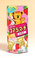 ロッテ コアラのマーチ いちご 48g【イージャパンモール】