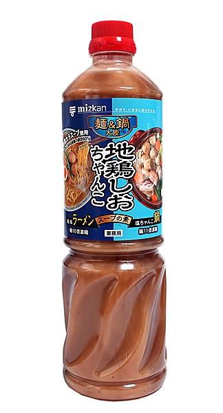 ミツカン 麺&鍋 地鶏塩チャンコスープ 1.18L【イージャパンモール】