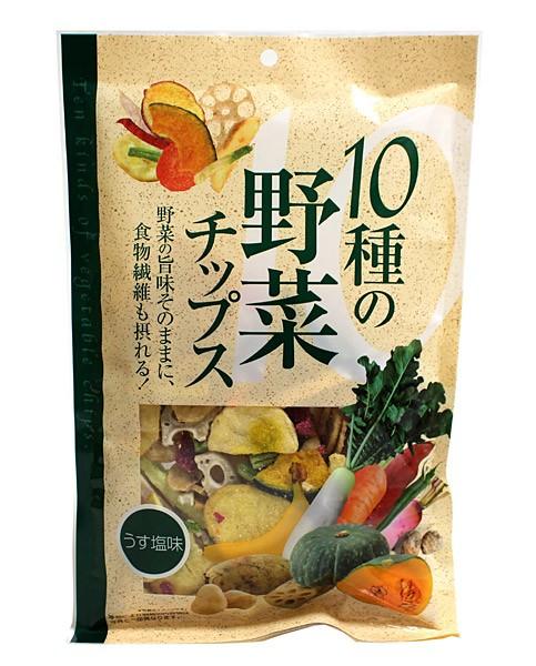味源 10種の野菜チップス110g【イージャパンモール】