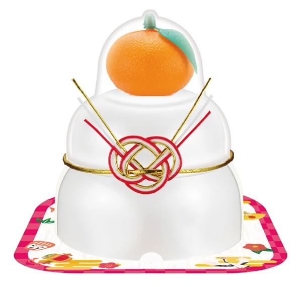 【鏡餅】サトウ 福餅入り鏡餅小飾り橙66g【イージャパンモール】