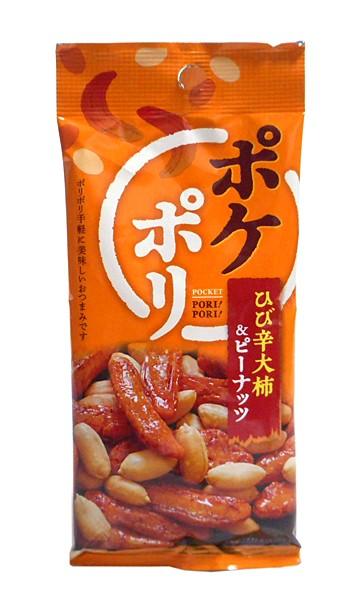 MDH ポケポリひび辛大柿&ピーナッツ50g【イージャパンモール】